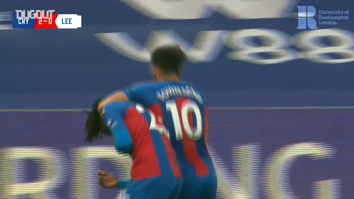 Crystal Palace's best goals of 2020