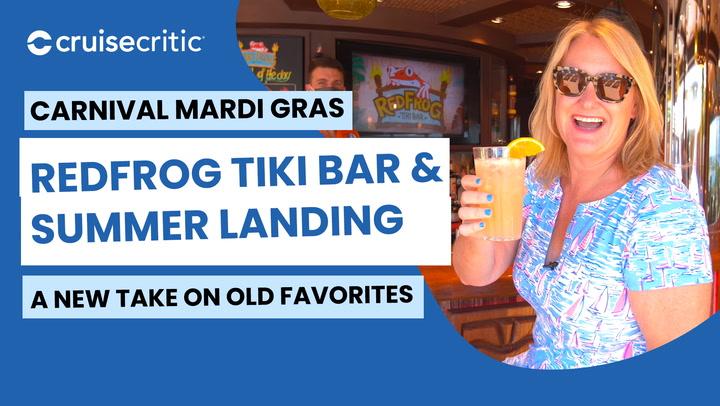Mardi Gras Carnival: RedFrog Tiki Bar & Summer Landing