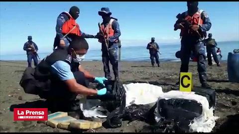 Ejército de Nicaragua incauta 300 paquetes de cocaína
