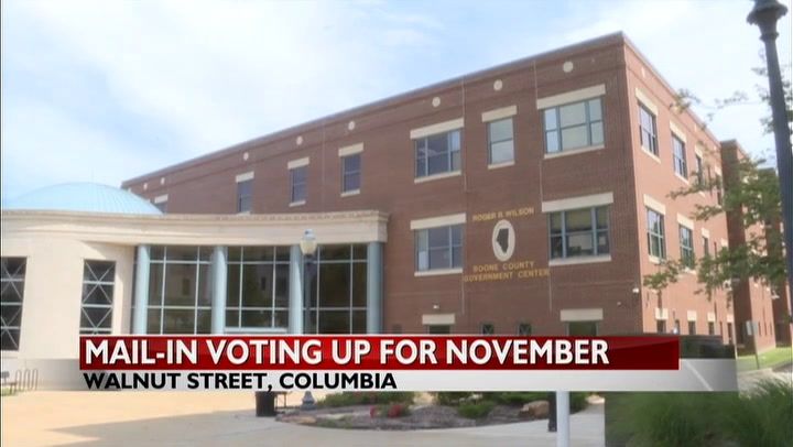 Boone County Clerk expects mail-in ballot requests to double for November elections