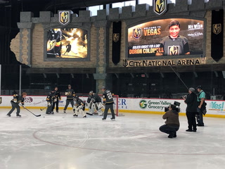 "Vegas Golden Knights, Fleury Make Day for Critically Ill Teenager in ESPN ""My Wish"" – Video"