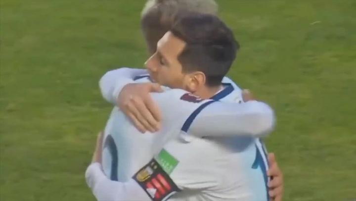 El partido de Leo Messi ante Bolivia