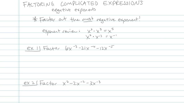 Factoring Complicated Expressions - Problem 7