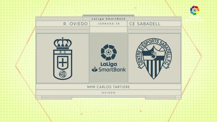 LaLiga SmartBank (J38): Resumen y goles del Oviedo 2-1 Sabadell