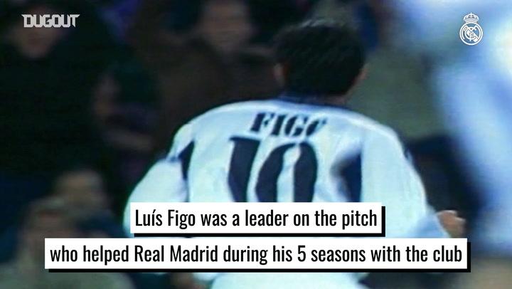 Luís Figo, a Real Madrid legend