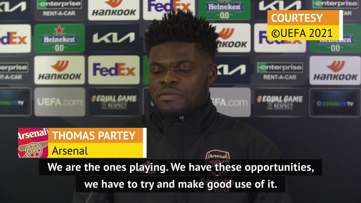 Arsenal belong in the Champions League - Partey