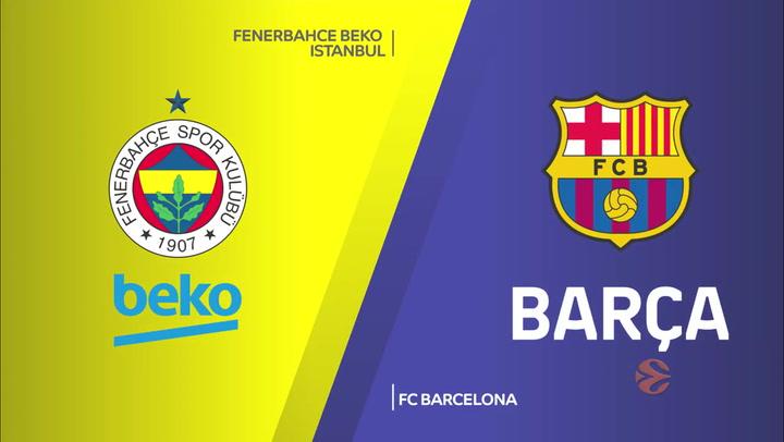 Euroliga: Fenerbahce - FC Barcelona