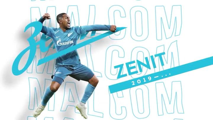 Malcom, nuevo jugador del Zenit