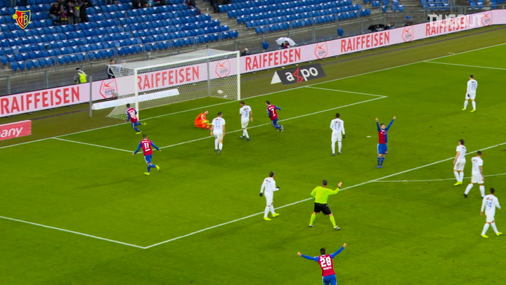 Team Goals: Albian Ajeti Vs FC Zurich