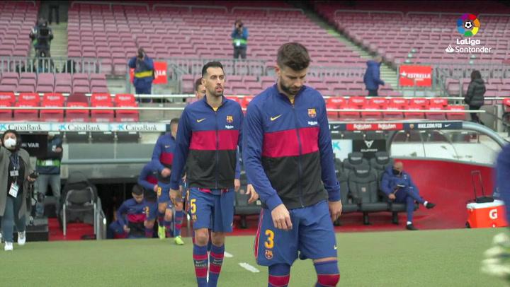 LaLiga Santander (J24): Resumen y goles del Barcelona 1-1 Cádiz