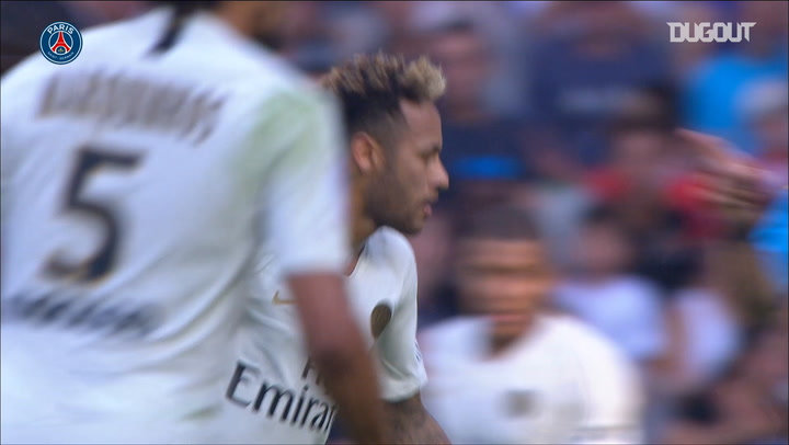 Paris Saint-Germain Beat Nice After Neymar Brace