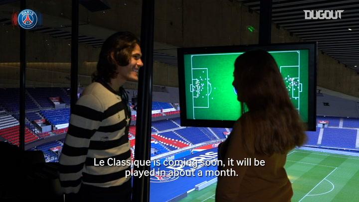 Dugout Exclusive: Cavani Recalls Favorite Goals
