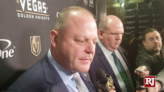 Golden Knights Head Coach Gerard Gallant On Loss To Kings