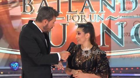 Cinthia Fernández contó cómo se conoció con el rosarino Martín Baclini