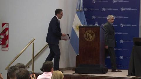 Presidente del BC de Argentina pide