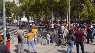 Centenares de personas se manifiestan en Madrid contra los confinamientos parciales