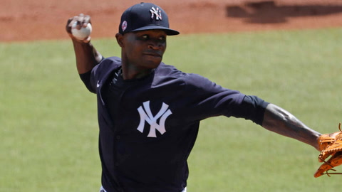 Has Domingo German's dominant spring earned him a Yankees rotation spot?