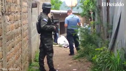 Asesinan a dos hombres en la colonia Villa Cristina de Tegucigalpa