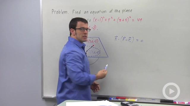Vectors and Planes - Problem 3