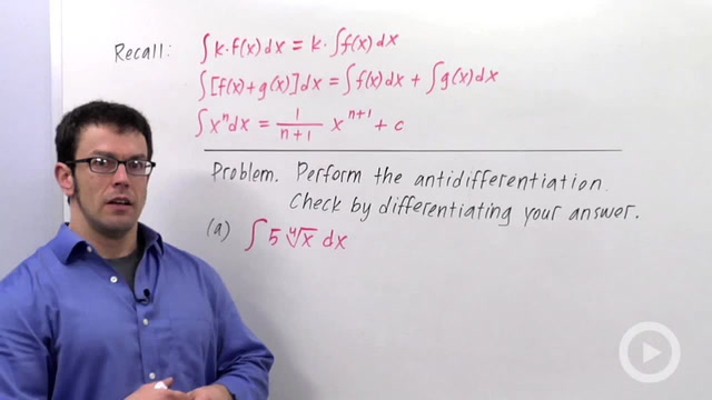 Indefinite Integrals - Problem 2