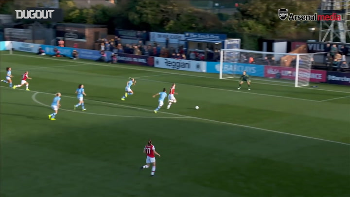 Vivianne Miedema earns all three points vs Manchester City