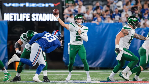 Ralph Vacchiano, Jeane Coakley wrap up Zach Wilson's Jets debut | SportsNite