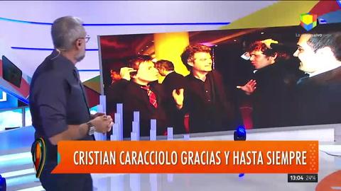 Jorge Rial conmovido por la muerte de Cristian Caracciolo