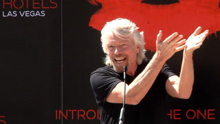 Sir Richard Branson announces purchase of Hard Rock Hotel