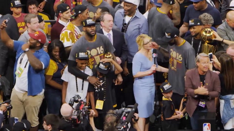 LeBron: NBA Finals, Post-Game 7
