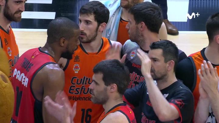 Valencia Basket - Cafés Candelas Breogán (83-82) RESUMEN / Jornada 30 Liga Endesa
