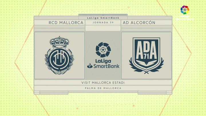 LaLiga SmartBank (J39): Resumen y goles del Mallorca 2-0 Alcorcón