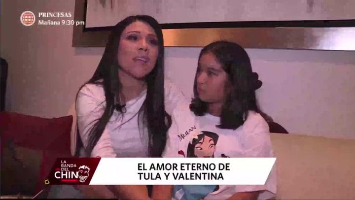 """Tula Rodríguez y su hija Valentina recordaron los últimos momentos que vivieron al lado de Javier Carmona: """"Siempre estará con nosotras""""   VIDEO"""
