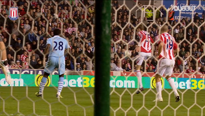 Incredible Goals: Crouch's Amazing Man City Volley