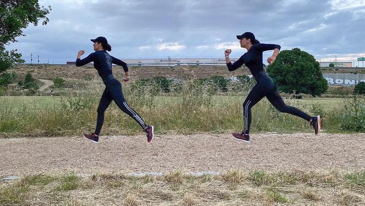 Cristina Pedroche nos descubre \'lo mejor\' tras su entrenamiento de running