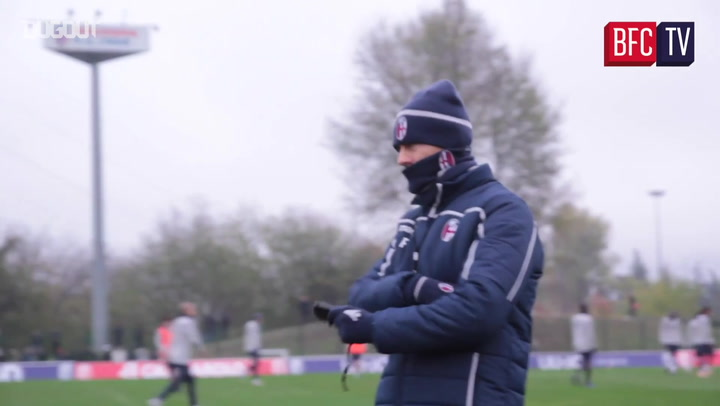 Inside Training: Bologna Back From Internationals