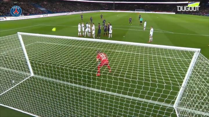 Neymar Jr's four goals in 40 minutes vs Dijon