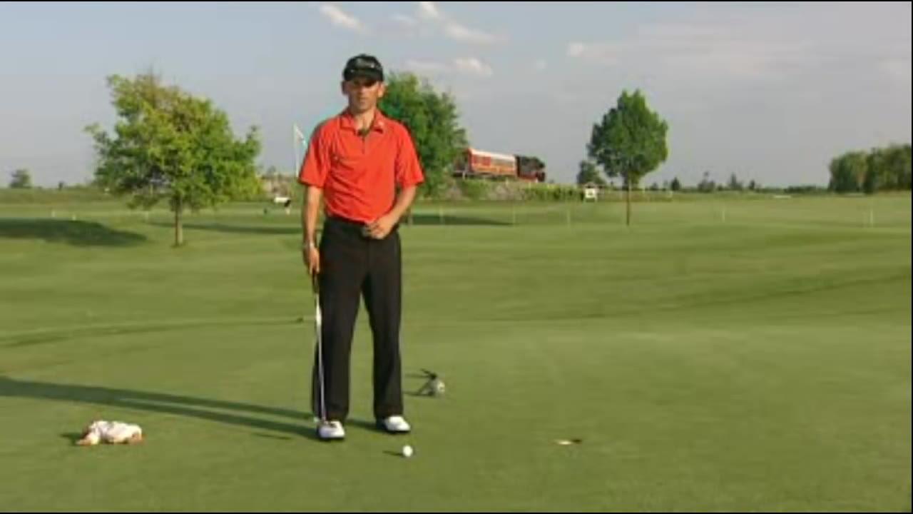 kleiner pitch beim golf