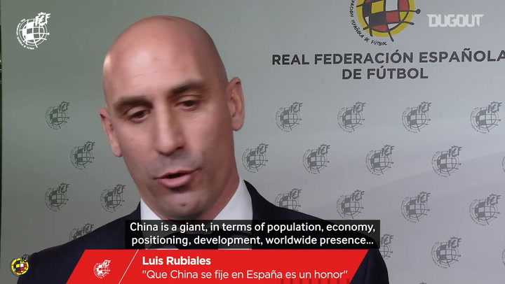 The RFEF announces a football development programme with China