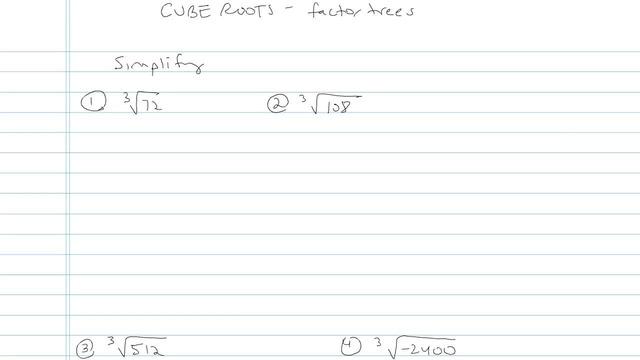 Cube Roots - Problem 3
