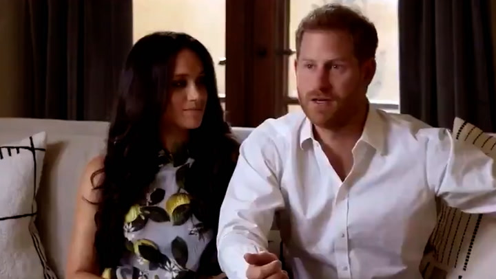 The Duke and Duchess of Sussex drop in for a surprise appearance at Spotify event