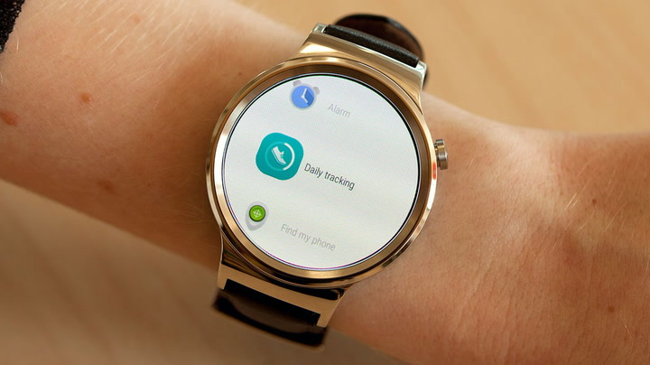 huawei smartwatch on wrist. huawei watch review: a stunning android wear smartwatch on wrist e