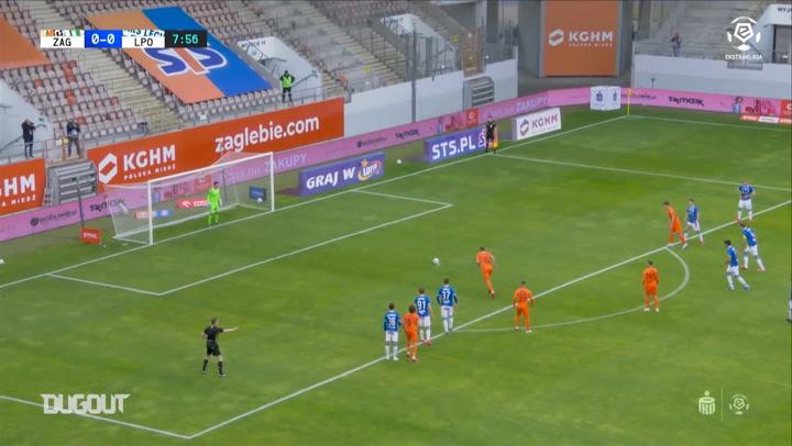 Late Ramirez penalty seals draw for Lech against Zaglebie Lubin