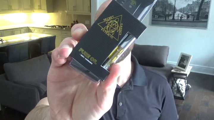 GSC Vape Pen from The Secret Garden - TheWeedTube