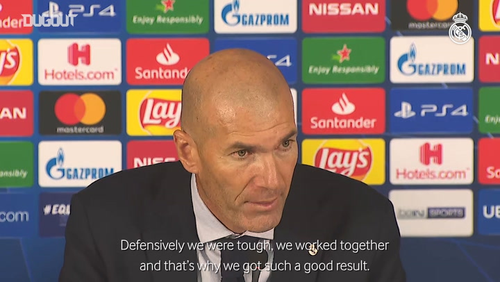 Zidane, Rodrygo and Kroos reflect on victory at Galatasaray