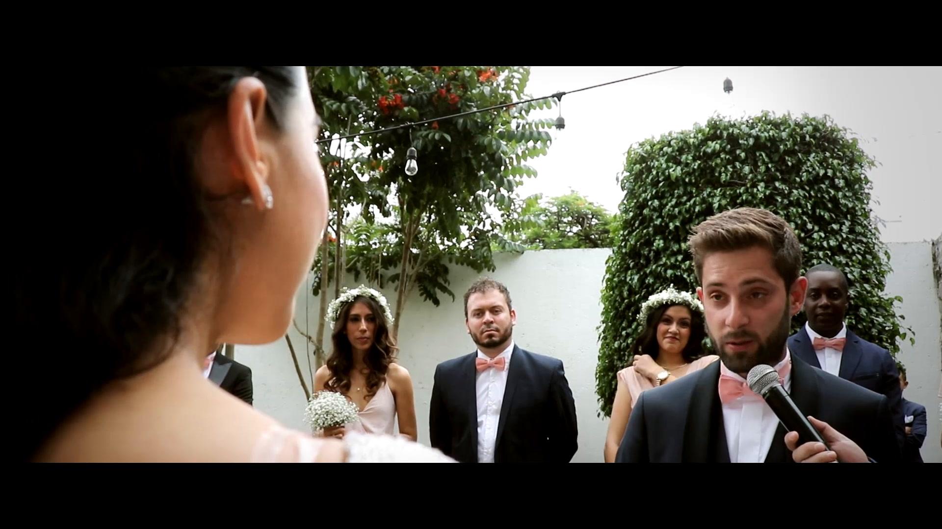 Desiree + Emilien | Atlixco, Mexico | Hacienda Santo Cristo