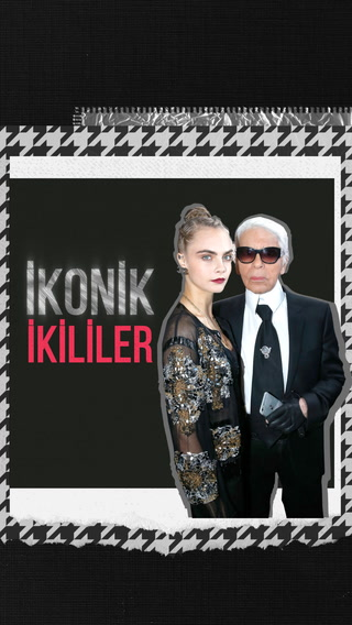 İkonik İkililer - Karl Lagerfeld & Cara Delevingne