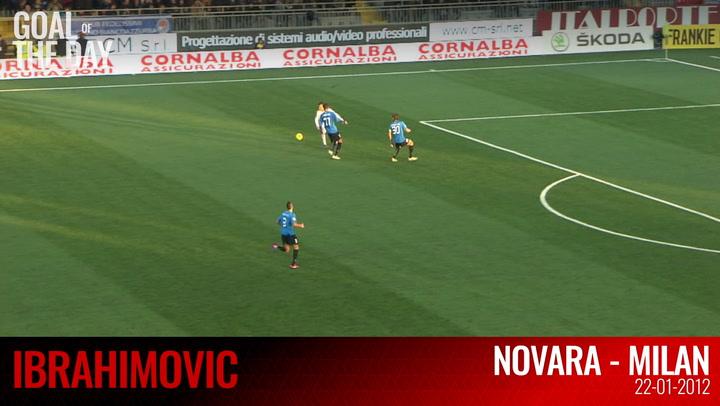 OTD: Ibra's goal vs Novara (2012)
