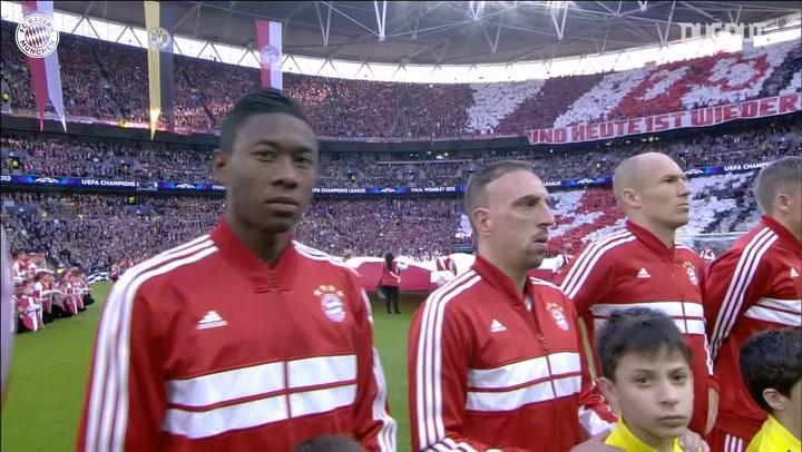 Bayern Münih 2013 Şampiyonlar Ligi Finalinde Dortmund'u Deviriyor