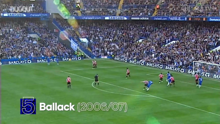Chelsea's Top five goals versus Sheffield United