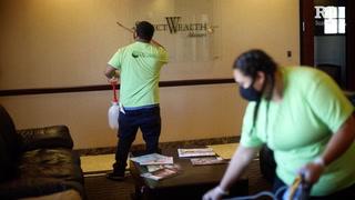Janitorial companies see surge in business amid coronavirus pandemic
